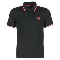material Men short-sleeved polo shirts Sergio Tacchini SPORTLIFE Black