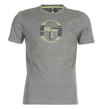 material Men short-sleeved t-shirts Sergio Tacchini DAVE TEE-SHIRT Grey