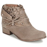 Shoes Women Mid boots Mimmu STROPFA Taupe
