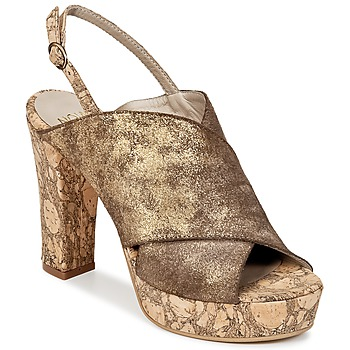Shoes Women Mules Now PALISSA Bronze