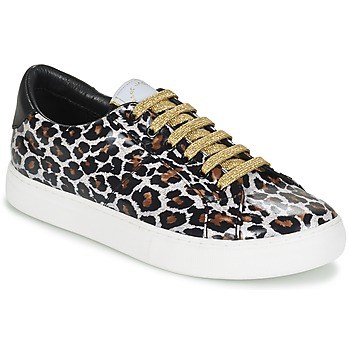 Shoes Women Low top trainers Marc Jacobs EMPIRE LACE UP Leopard
