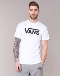 material Men short-sleeved t-shirts Vans VANS CLASSIC White