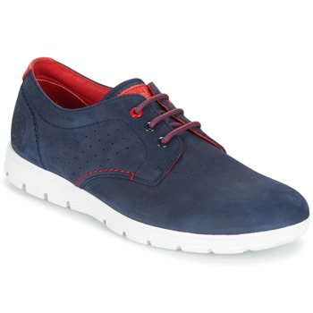 Shoes Men Low top trainers Panama Jack DOMANI Marine / Red