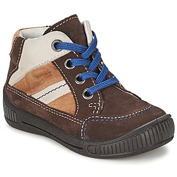 Shoes Boy Mid boots Superfit  Brown