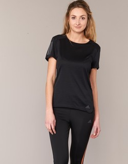 material Women short-sleeved t-shirts adidas Performance RS SS TEE W Black