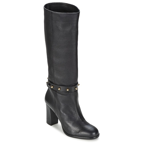 Shoes Women Boots Moschino Cheap & CHIC STUD Black