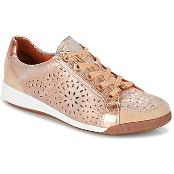 Shoes Women Low top trainers Ara ZIMELLE Pink / Metallic