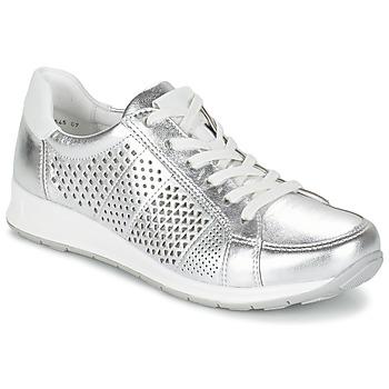 Shoes Women Low top trainers Ara CHEVOK Silver
