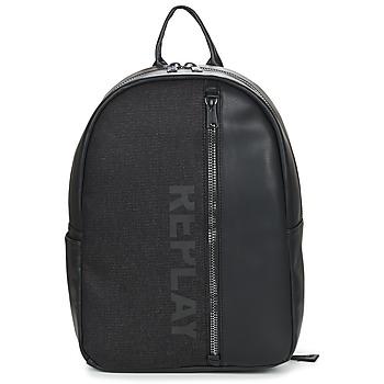Bags Men Rucksacks Replay GREGOR Black