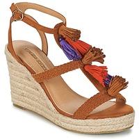 Shoes Women Sandals Buffalo VARIN Brown