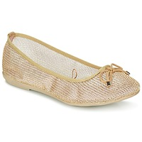 Shoes Women Ballerinas Refresh OULALA Gold
