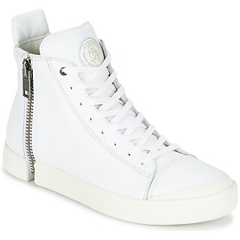 Shoes Men High top trainers Diesel S-NENTISH White