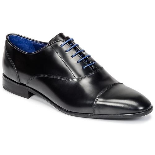 Shoes Men Brogue shoes Azzaro RAEL Black