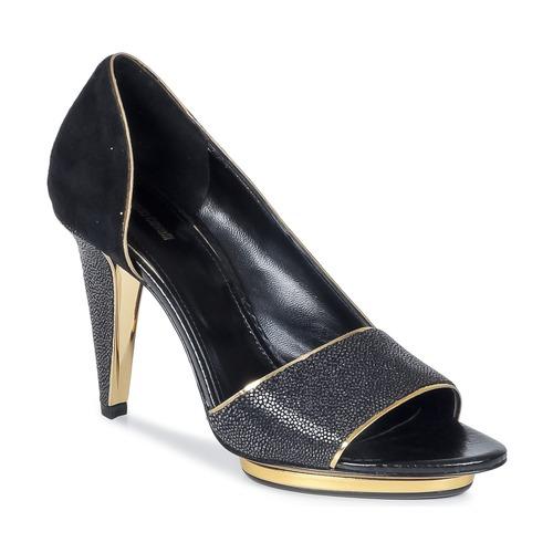 Shoes Women Sandals Roberto Cavalli YDS637-UF013-05051 Black