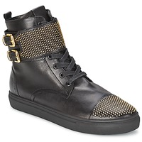 Shoes Women High top trainers Kennel + Schmenger URZI Black / Gold