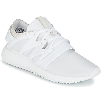 Shoes Women High top trainers adidas Originals TUBULAR VIRAL W White