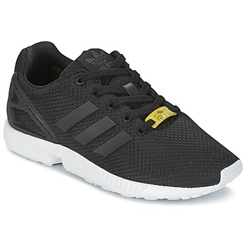 Shoes Children Low top trainers adidas Originals ZX FLUX J Black