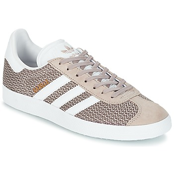 Shoes Women Low top trainers adidas Originals GAZELLE W Grey