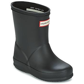 Shoes Children Wellington boots Hunter KIDS FIRST CLASSIC Black