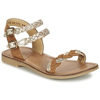 Shoes Girl Sandals Shwik LAZAR WOWO Camel / Gold