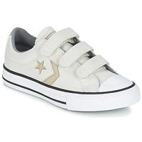 Shoes Boy Low top trainers Converse STAR PLAYER 3V TEXTILE OX Ecru / Kaki