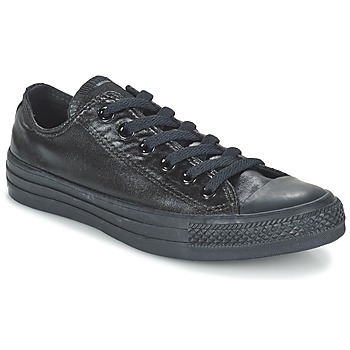 Shoes Women Low top trainers Converse CHUCK TAYLOR ALL STAR SEASONAL METALLICS OX Black