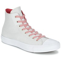 Shoes High top trainers Converse CHUCK TAYLOR ALL STAR II BASKETWEAVE FUSE HI Ecru / White / Red