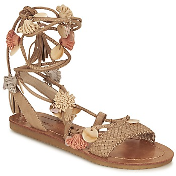Shoes Women Sandals Elue par nous ZECTEUR Brown