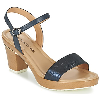 Shoes Women Sandals Metamorf'Ose ZACQUESTE Blue / Brown