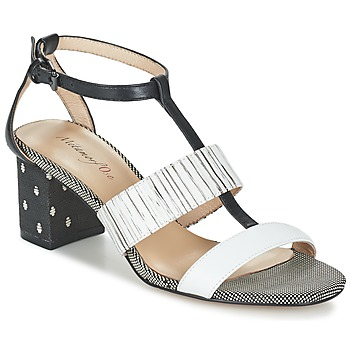 Shoes Women Sandals Metamorf'Ose ZAFNOLO Black / White