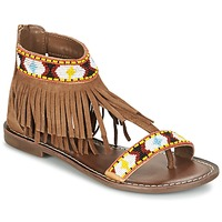 Shoes Women Sandals Metamorf'Ose ZACCIN Brown