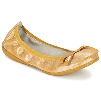 Shoes Women Ballerinas Les P'tites Bombes ELLA Yellow