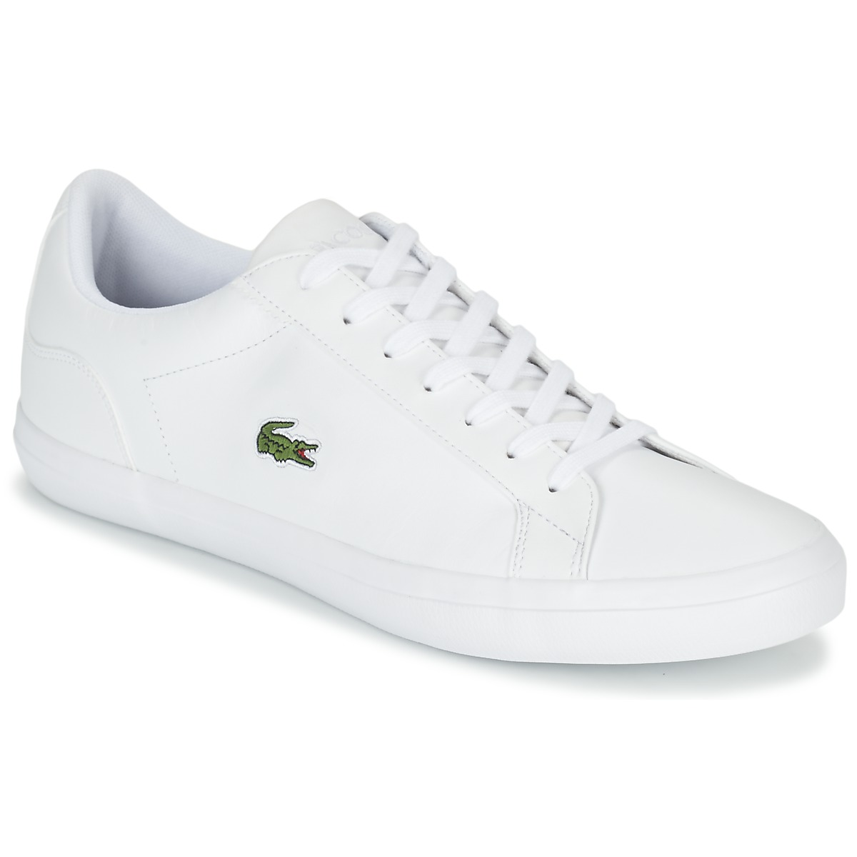 Lacoste Lerond white leather Girls trainers Size Kids 11 BRAND NEW WITH BOX