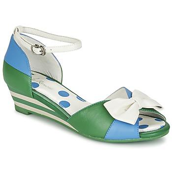 Shoes Women Sandals Lola Ramona LENNIE Blue / Green