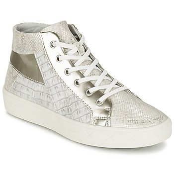 Shoes Women High top trainers Tamaris RAMOUIA Grey