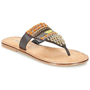 Shoes Women Flip flops Tamaris NIRI Brown
