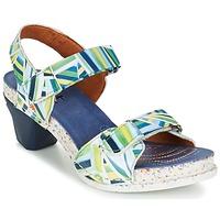 Shoes Women Sandals Art I  ENJOY Blue / Green