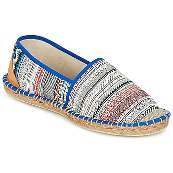 Shoes Women Espadrilles Art of Soule BOHEMIAN Blue