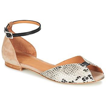 Shoes Women Sandals Emma Go JULIETTE Beige / Black