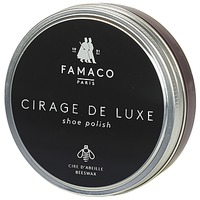 Accessorie Shoepolish Famaco Boite de cirage de luxe bordeaux 100 ml Bordeaux
