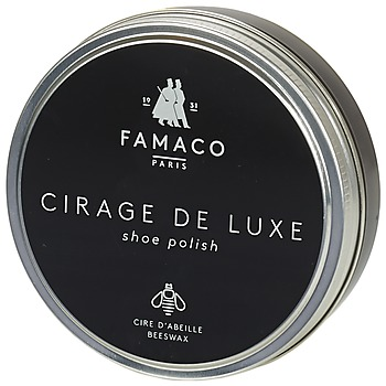 Accessorie Shoepolish Famaco Boite de cirage de luxe marron foncé 100 ml Brown / Dark