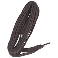 Accessorie Laces Famaco Lacet plat 90 cm marron fonce Brown / Dark