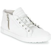 Shoes Women High top trainers Blackstone NL35 White