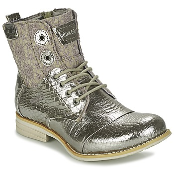 Shoes Women Mid boots Bunker SARA Silver