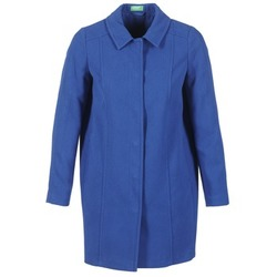 material Women coats Benetton JOPILO Blue