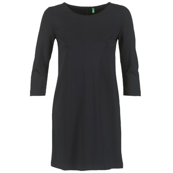 material Women Short Dresses Benetton SAVONI Black