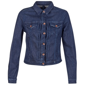 material Women Denim jackets Benetton FESCAR Blue / Dark