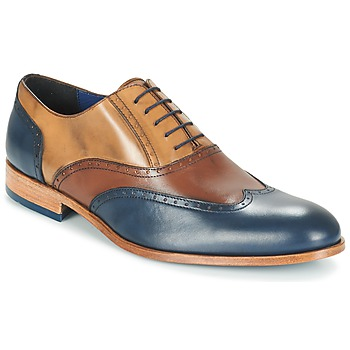 Shoes Men Brogue shoes Brett & Sons ROLIATE Brown / BEIGE / Blue