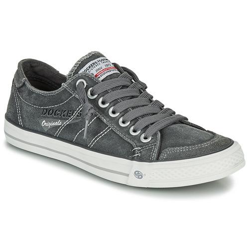 Shoes Men Low top trainers Dockers by Gerli JOLEVE Grey