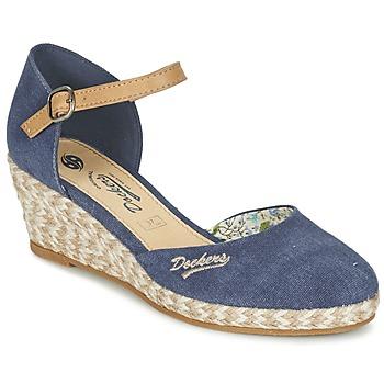 Shoes Women Sandals Dockers by Gerli AFINOUDE Blue